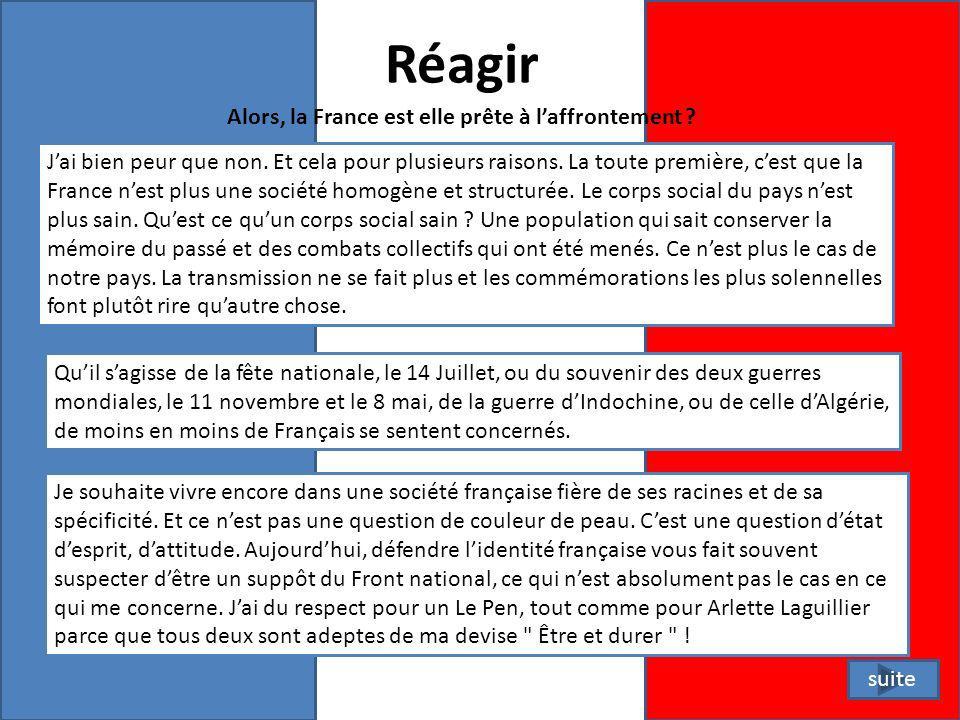 Repentance La France est la risée du monde entier.