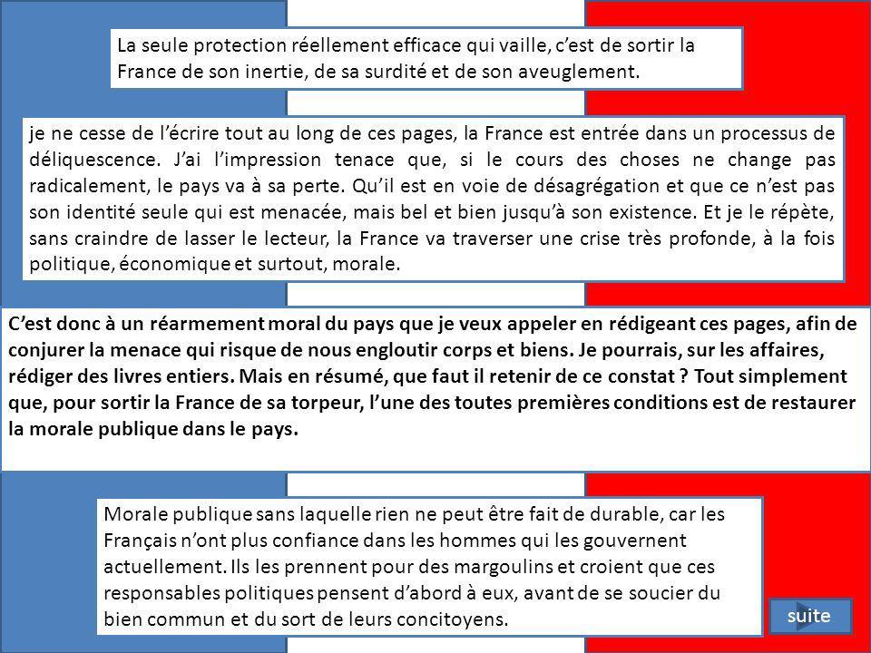 Réagir Alors, la France est elle prête à laffrontement .