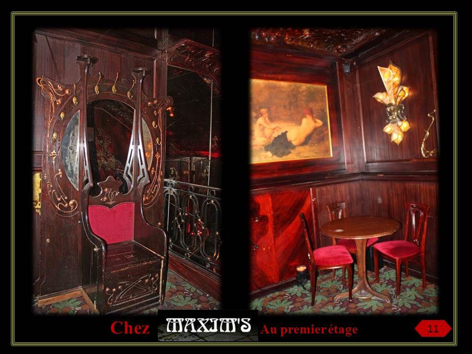 Eugène Cornuché fait appel aussi à des maîtres verriers et, dès larrivée de lélectricité, installe sur toutes les tables des lampes Tiffany et de la f