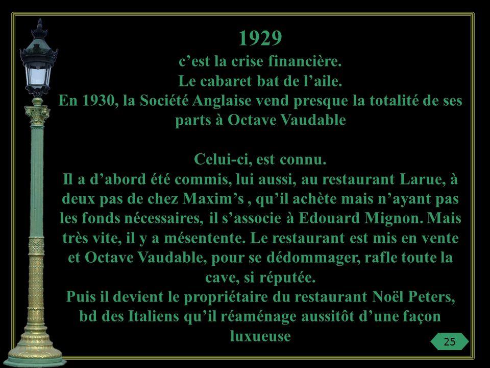 « Le Boeuf sur le toit » chez Pièce burlesque de Jean Cocteau des années 1920 qui devient une fantaisie musicale grâce au génie de Darius MiIlhaud. Ch