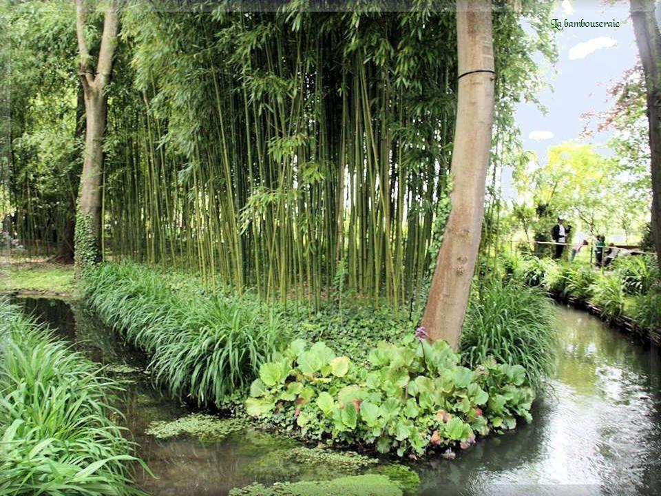 En 1893, dix ans après son arrivée à Giverny, Monet achète le terrain qui voisine sa propriété de l autre côté de la voie de chemin de fer.