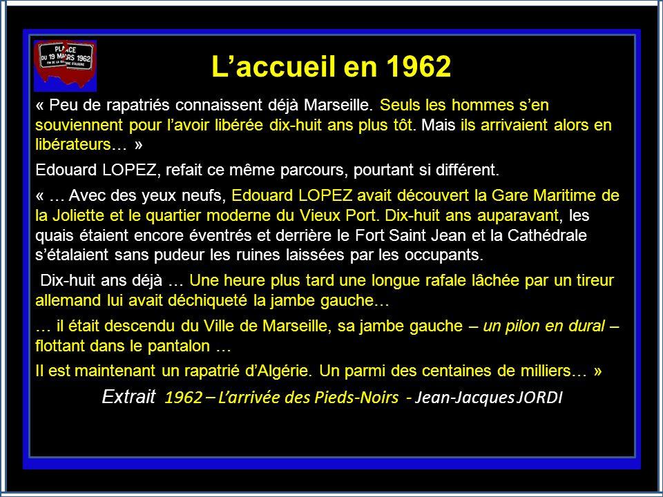 Le plus grand déplacement de population du XXe siècle Personne ne lavait prévu, pourtant les français dAlgérie (européens et musulmans) ont quitté en