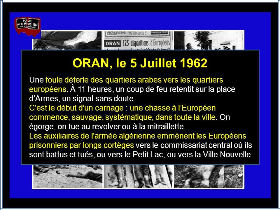 ALGER, le 26 Mars 1962 Ce jour-là, c'est en toute confiance que les algérois, drapeaux tricolores en tête, marchent vers Bab-El-Oued Ils n'y arriveron