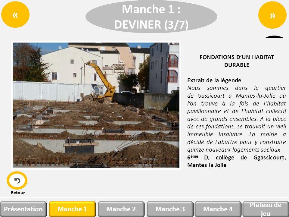 Manche 1Manche 2 Plateau de jeu Manche 3Manche 4Présentation » « Manche 3 : DECRYPTER Bravo .