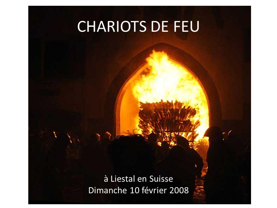 CHARIOTS DE FEU à Liestal en Suisse Dimanche 10 février 2008