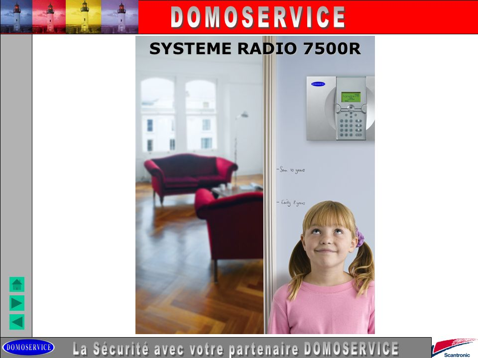 LA SECURITE SYSTEME RADIO 7500R