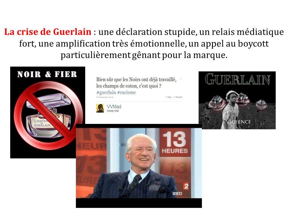 La crise de Guerlain : une déclaration stupide, un relais médiatique fort, une amplification très émotionnelle, un appel au boycott particulièrement g