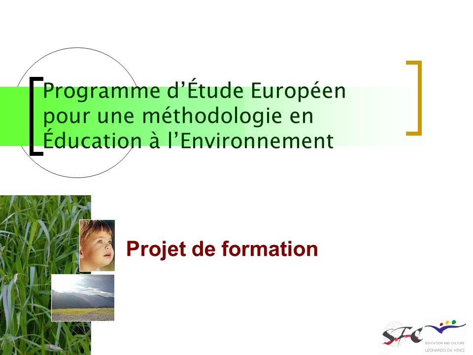 Auteur : Marianne BEL chargé détudes Service de la formation continue Université de Toulouse 2 France Projet de formation Programme dÉtude Européen po