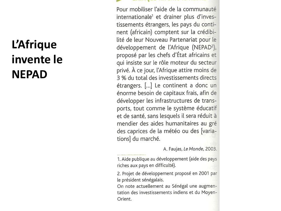 LAfrique invente le NEPAD