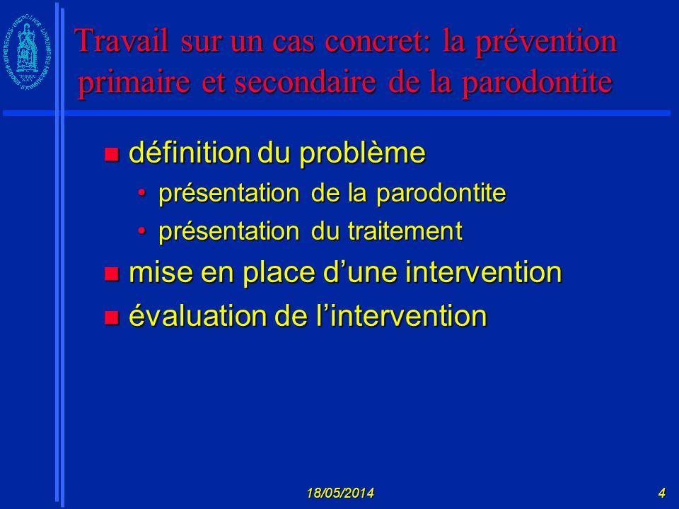18/05/201425 Modèle de lautorégulation Leventhal et al.