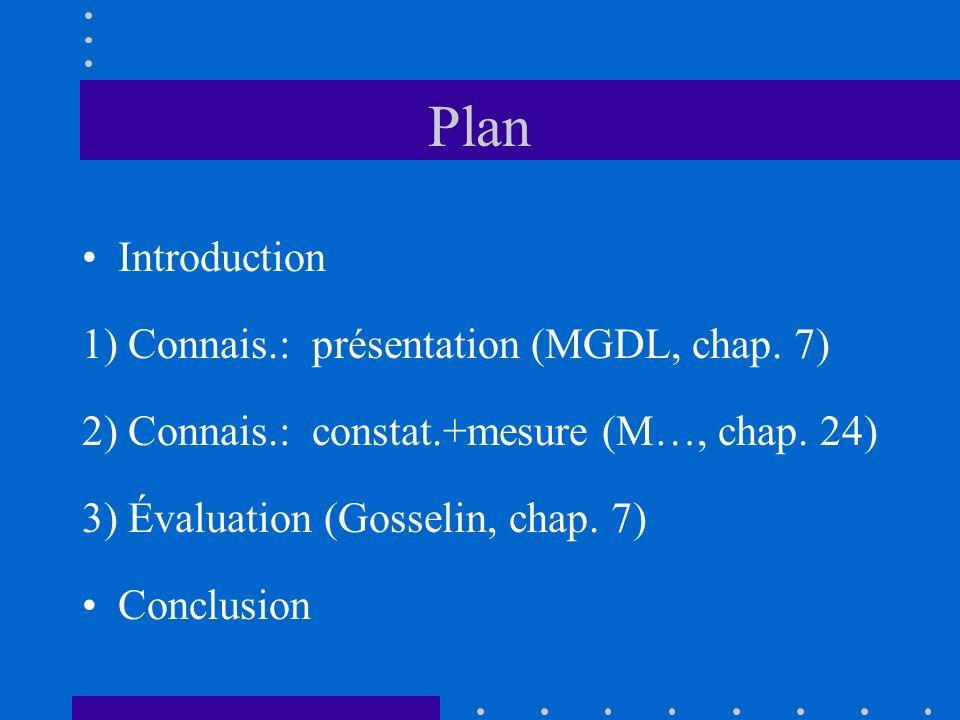 1.2.4) Normes comptabilisation Chap.3860 –Normes présentation (pas constat.