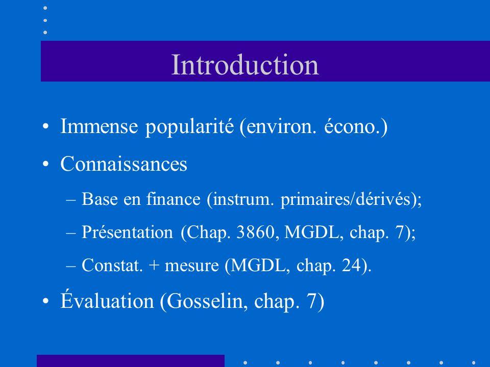 1.3) Classement bilan Introduction –Actif fin.constat.