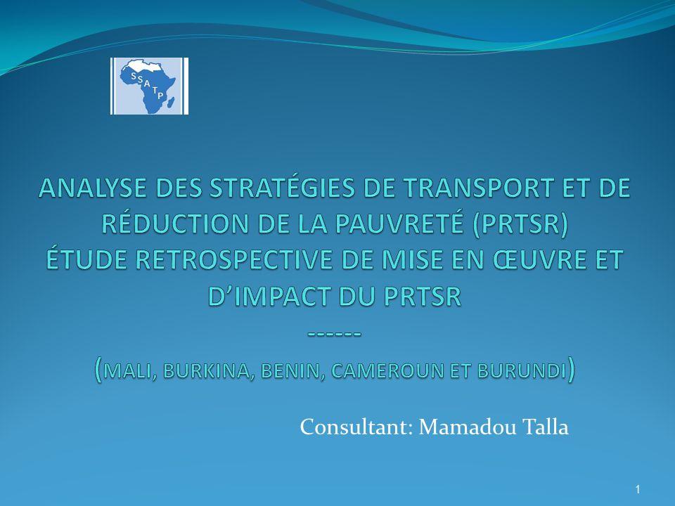 Consultant: Mamadou Talla 1