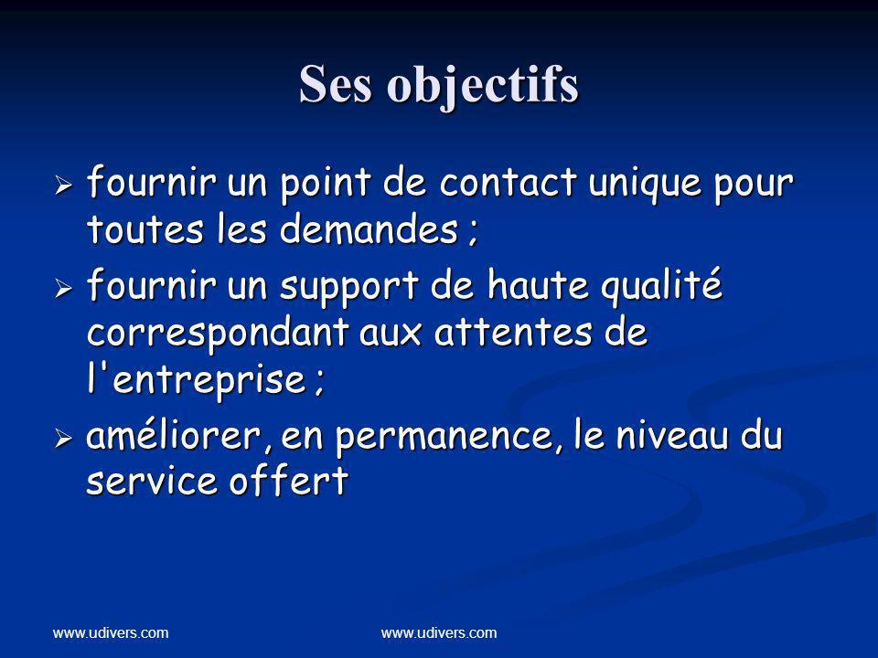 www.udivers.com Accès au Service Desk : http://servicedesk