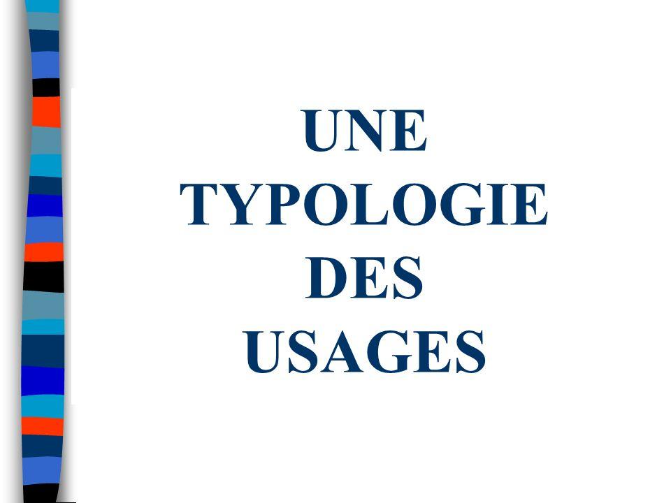 USAGES PEDAGOGIQUES n se former, s auto-former Champs dapplication : - Accès à des sites spécialisés