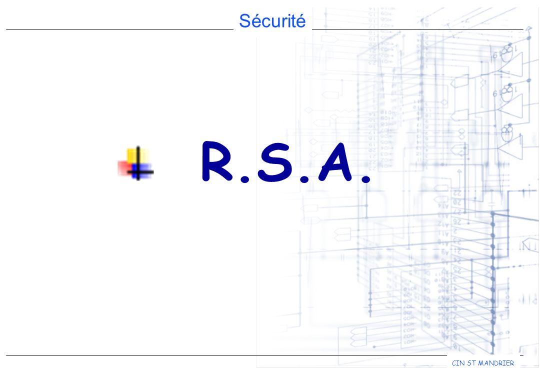 Sécurité CIN ST MANDRIER R.S.A.