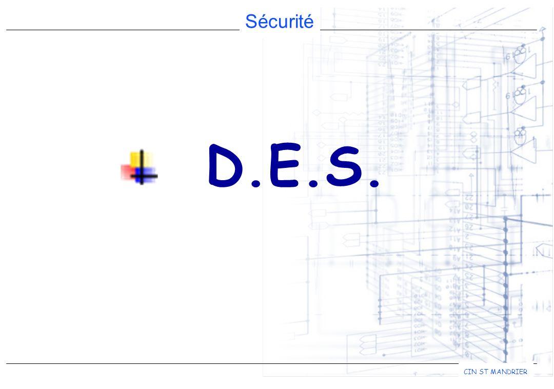 Sécurité CIN ST MANDRIER D.E.S.