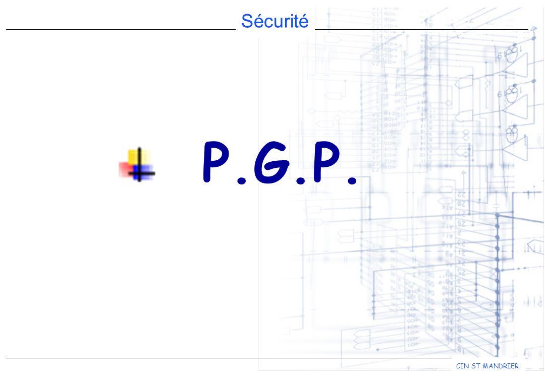 Sécurité CIN ST MANDRIER P.G.P.