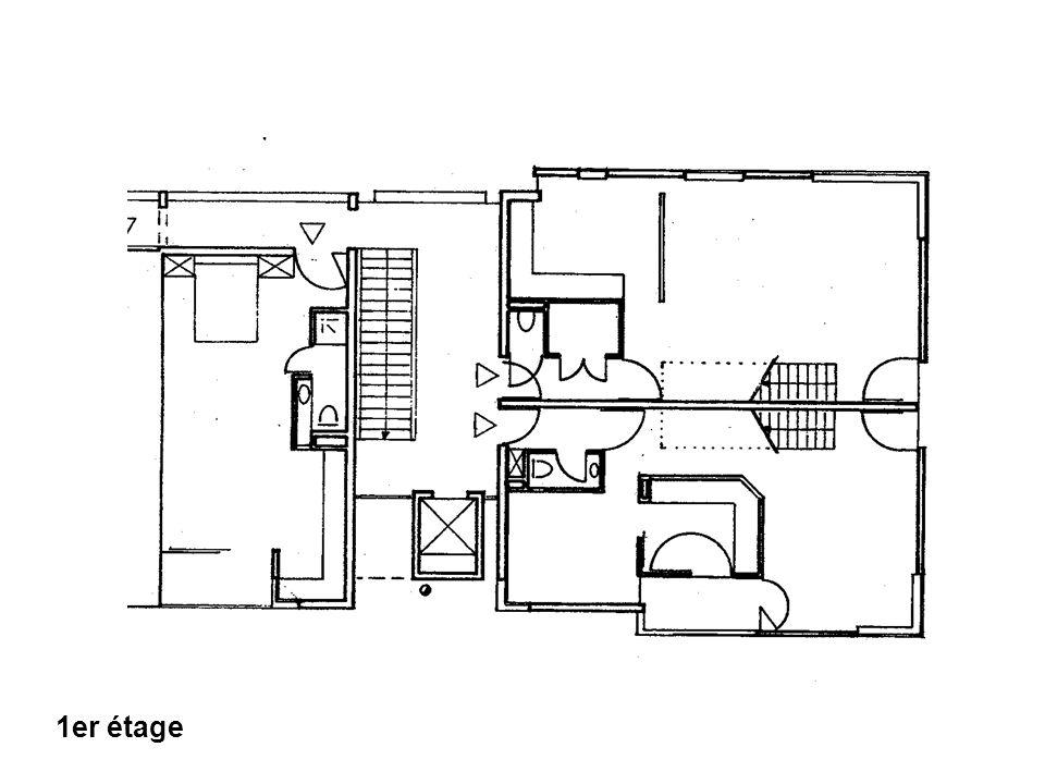 Application : Ventilation appartements Détails trémie T1 et T2