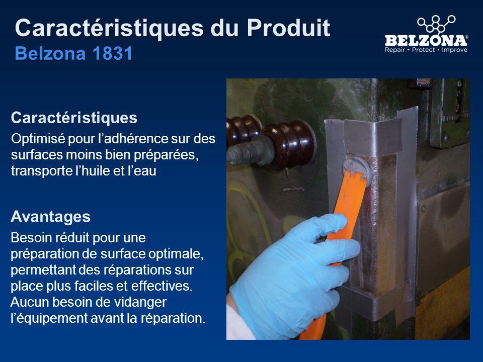Caractéristiques du Produit Belzona 1831 Caractéristiques Avantages Optimisé pour ladhérence sur des surfaces moins bien préparées, transporte lhuile