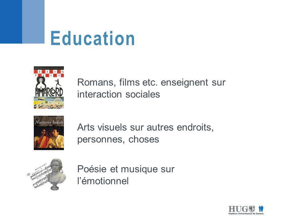 Education Romans, films etc.