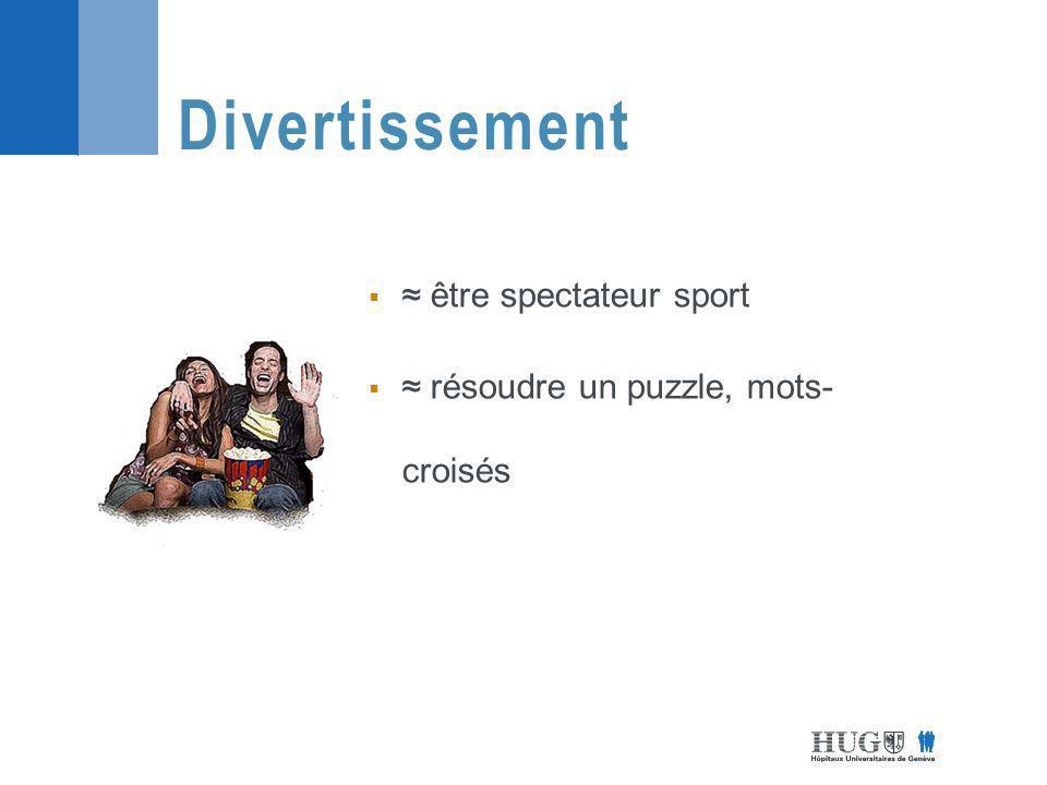 être spectateur sport résoudre un puzzle, mots- croisés Divertissement