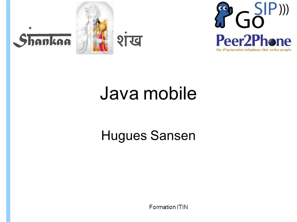 Formation ITIN Java Mobile Edition, CDC : Connected Device Profile
