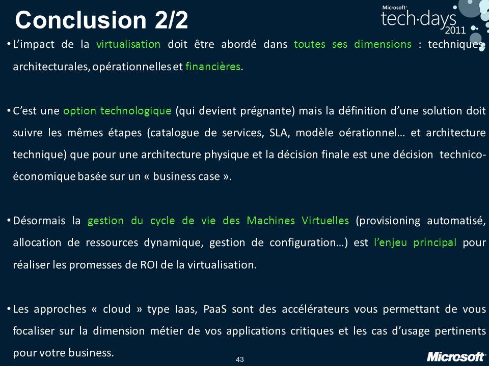 43 Conclusion 2/2