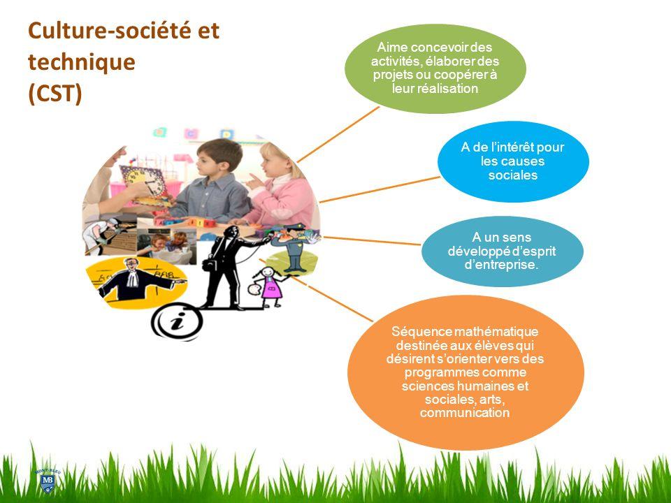 Aime concevoir des activités, élaborer des projets ou coopérer à leur réalisation A de lintérêt pour les causes sociales A un sens développé desprit d