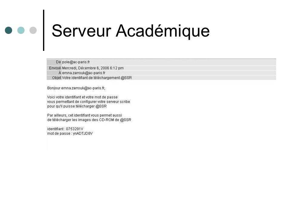 Serveur Académique