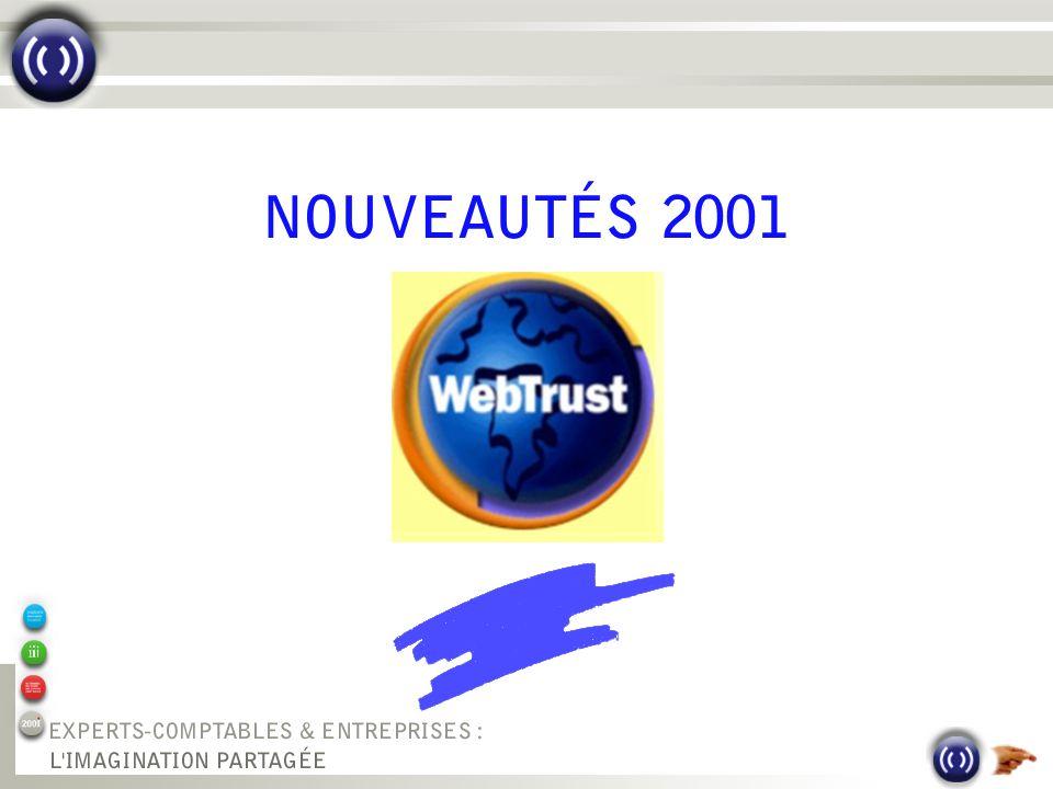 0 NOUVEAUTÉS 2001