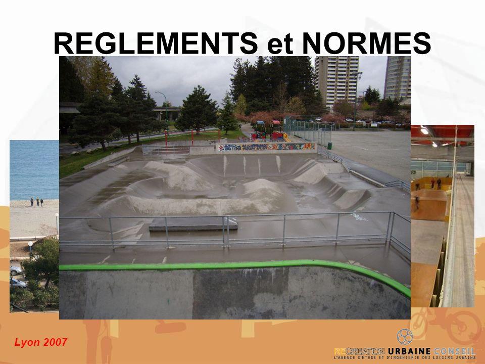 Lyon 2007 REGLEMENTS et NORMES