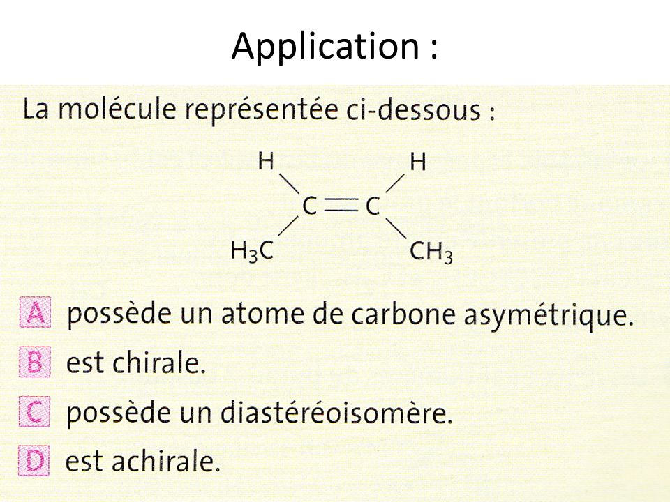 Application :