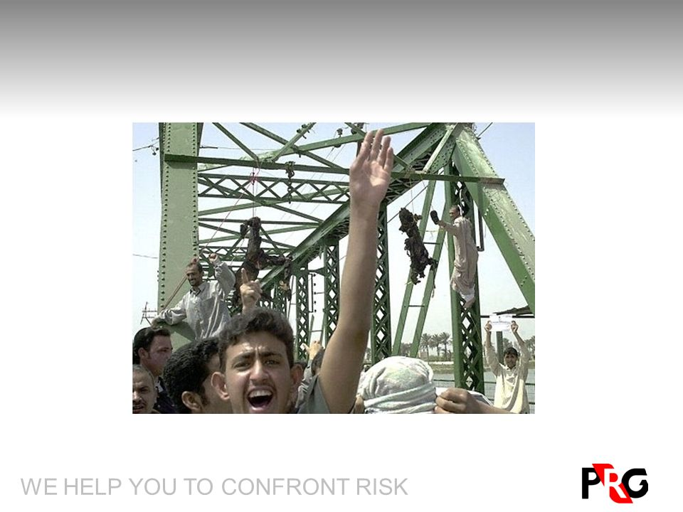 WE HELP YOU TO CONFRONT RISK