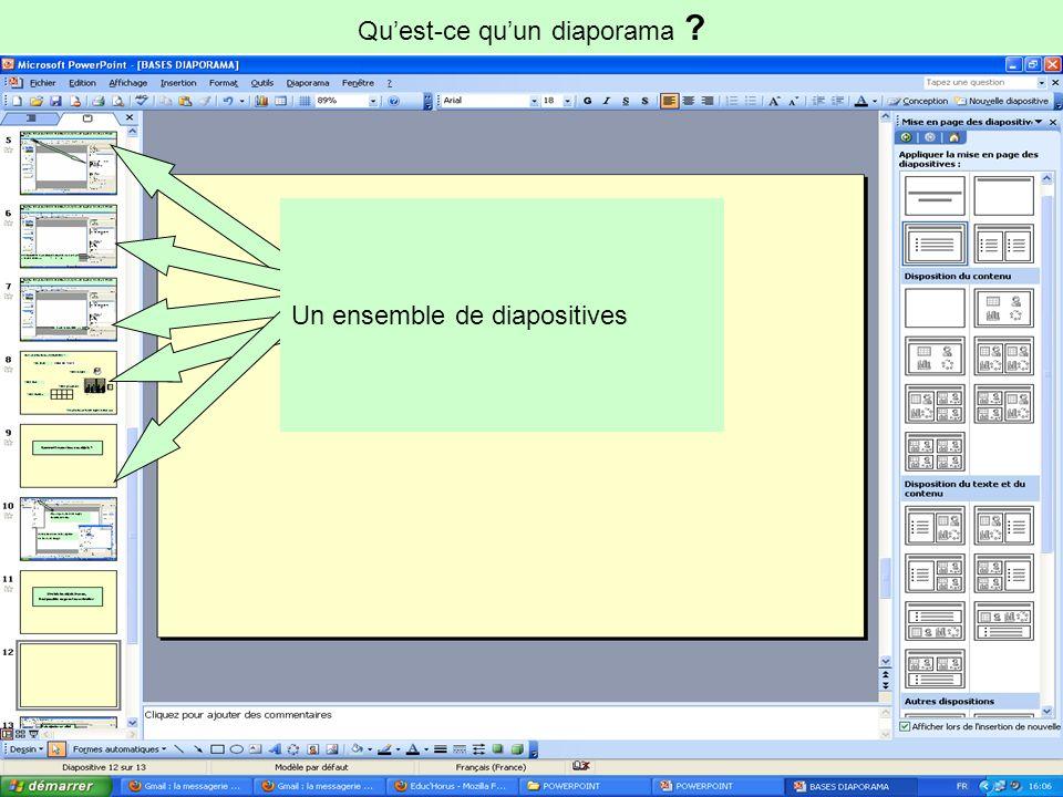 Les bases du diaporama Avec le logiciel POWER-POINT (PREsentation Assitée par Ordinateur)