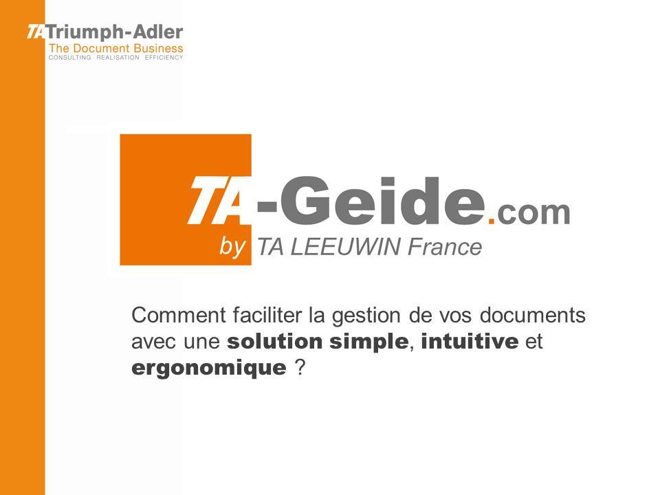 Pour plus d information, contactez : Antoine GUILLOT, Technico-Commercial a.guillot@triumph-adler.fr 06 58 34 21 13 Ou votre Responsable Commercial 12