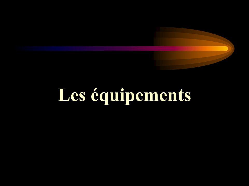 Les équipements