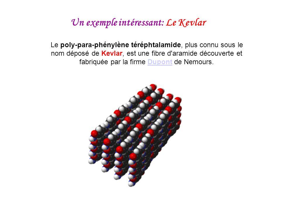Le poly-para-phénylène téréphtalamide, plus connu sous le nom déposé de Kevlar, est une fibre d'aramide découverte et fabriquée par la firme Dupont de