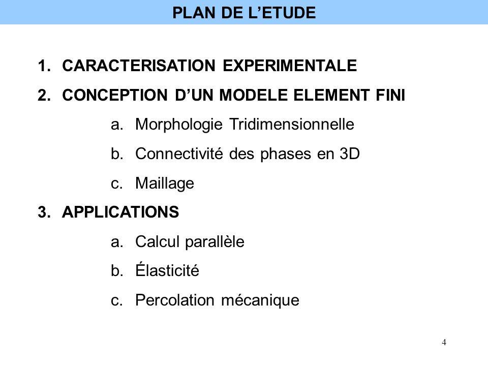 5 zircone phase vitreuse Microstructure simulée avec épaisseur de joints (A.