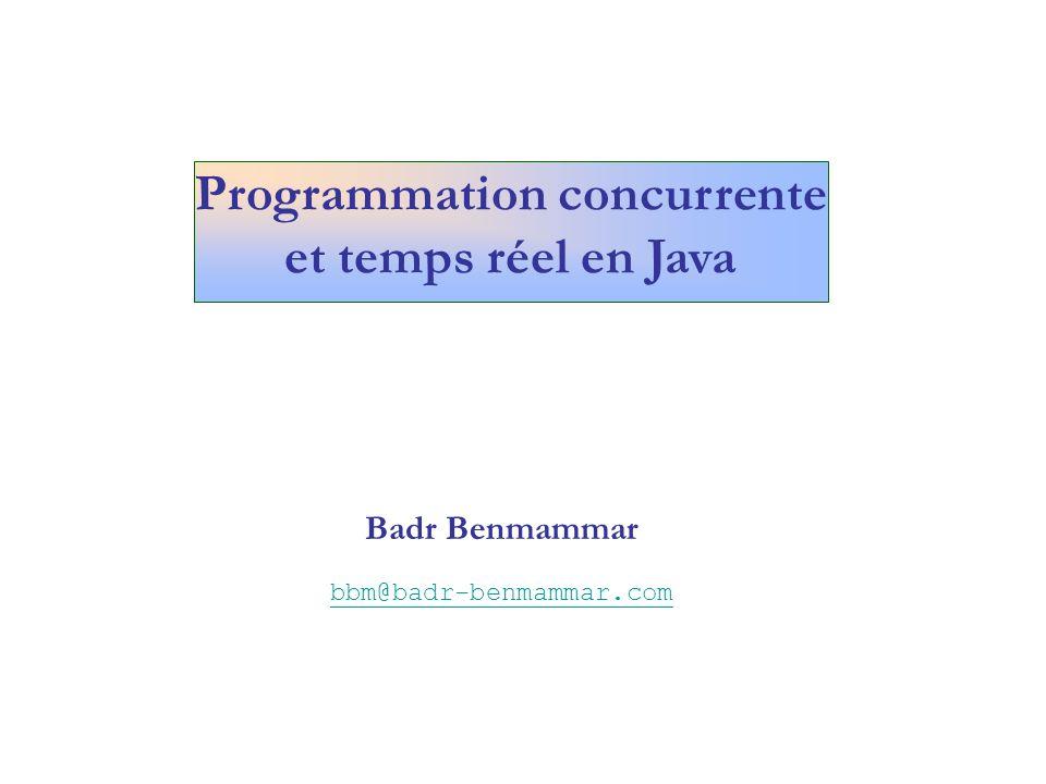 Programmer une tâche avec délai initial et une périodicité import java.util.TimerTask; import java.util.Timer; class DeclancherLePerroquet11{ public static void main(String args[]) { Perroquet11 perroquet = new Perroquet11( coco , 3); Timer timer = new Timer(); timer.schedule(perroquet, 3000,2000); String reponse= oui ; do { System.out.println( blabla ); System.out.println( voulez-vous encore bavarder .