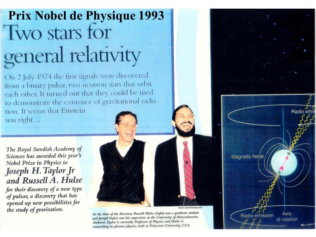 Prix Nobel de Physique 1993