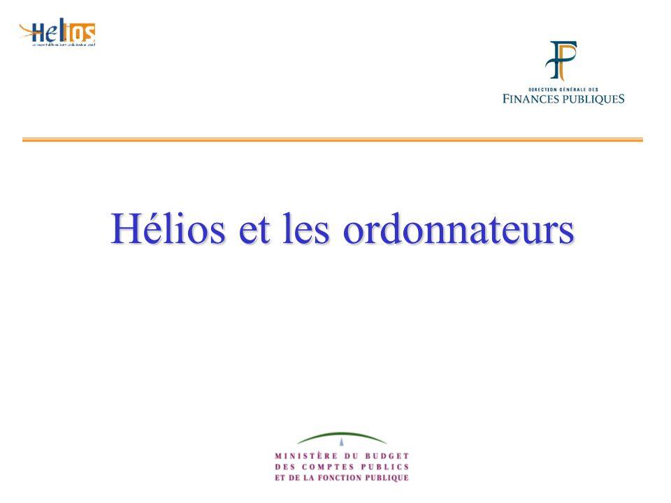 Hélios et les ordonnateurs
