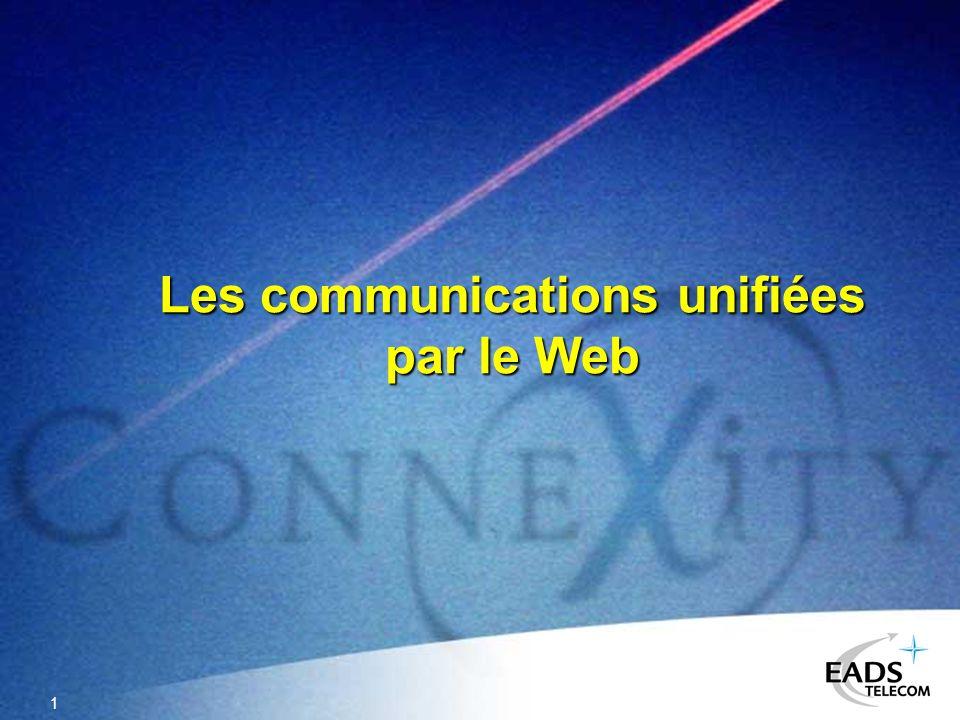 1 Les communications unifiées par le Web