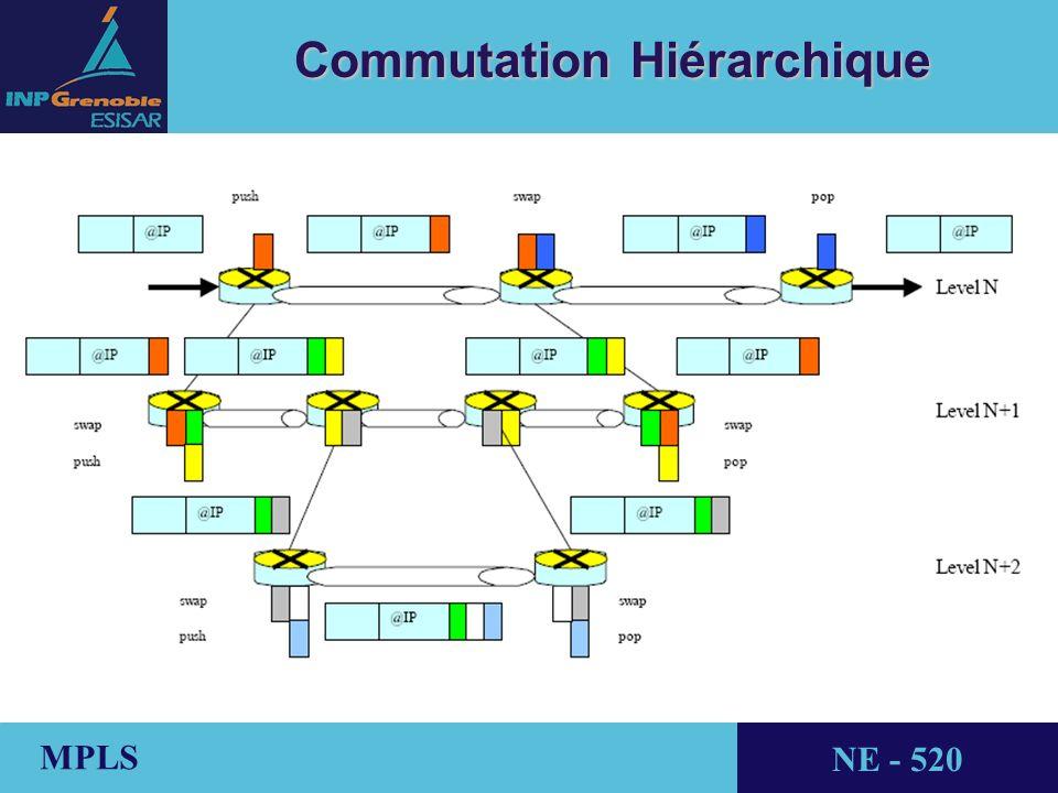 THALES AVIONICS MPLS NE - 520 Commutation Hiérarchique