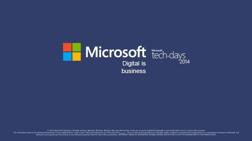 Digital is business