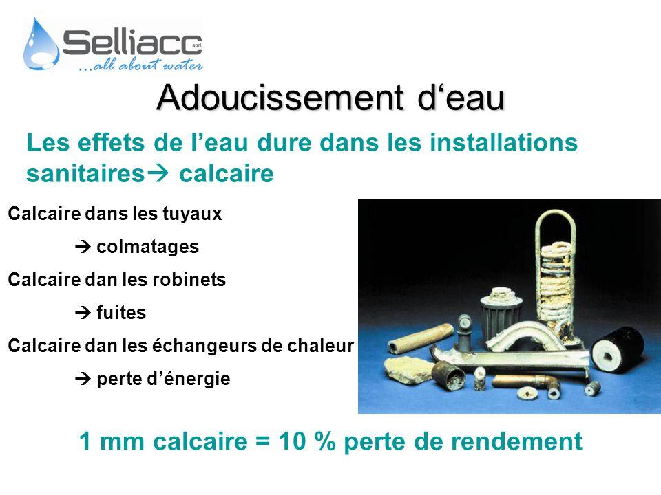 Les effets de leau dure dans les installations sanitaires calcaire Calcaire dans les tuyaux colmatages Calcaire dan les robinets fuites Calcaire dan l