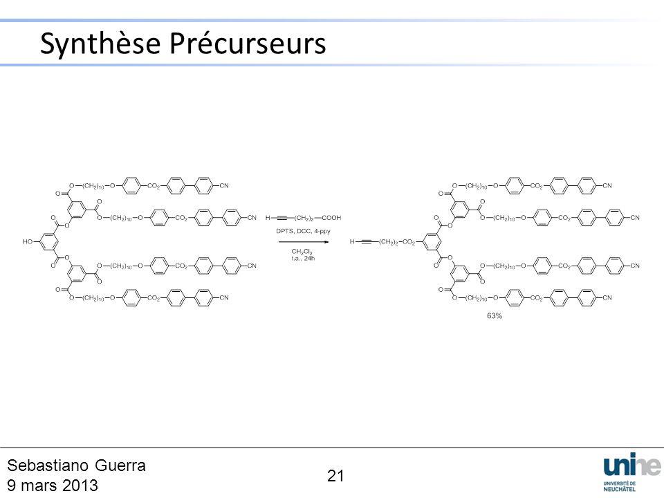 Synthèse Précurseurs 21 Sebastiano Guerra 9 mars 2013