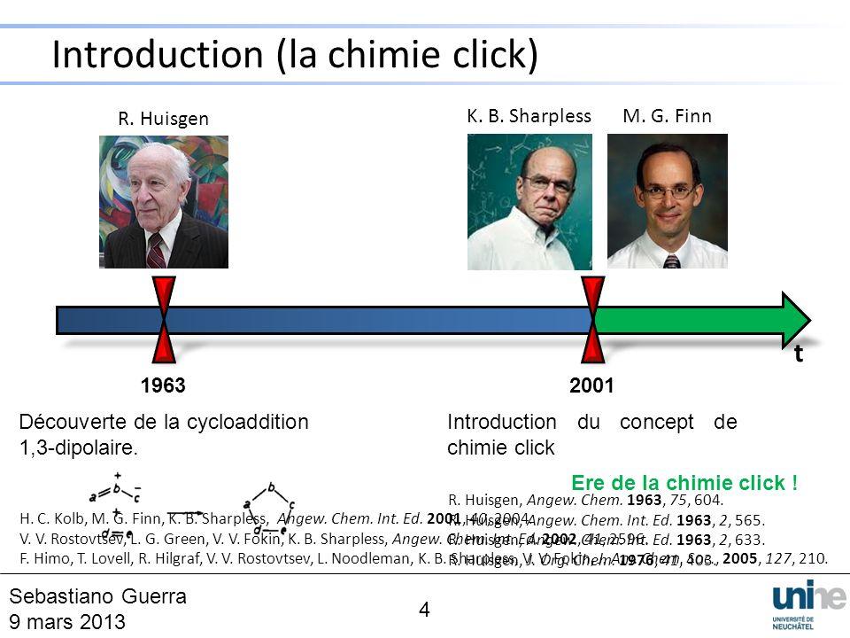 5 Réaction générale Cycle catalytique F.Himo, T. Lovell, R.