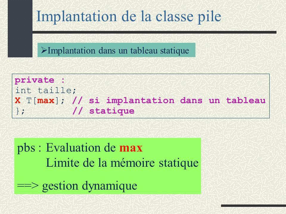template <class X > X min (const X& A,const X& B){ if (A<B) return(A); return (B); } Exemple de fonction générique void main (void){ int i,j,m; cin >>