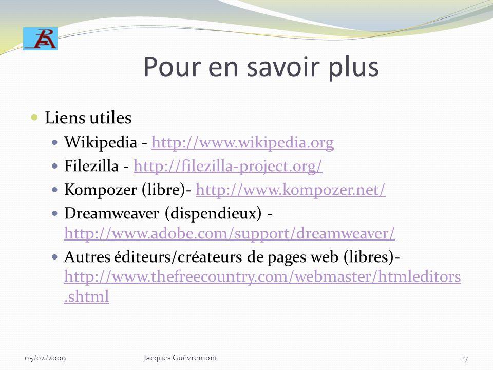 Invitation -- atelier Pour les intéressés: Partage des connaissances en atelier (sous-groupe) Pratiques sur site expérimental du GI http://www.retrait